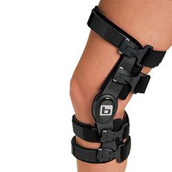 Custom knee bracing